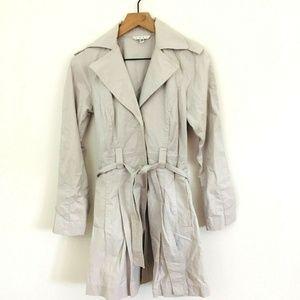 CAbi Lightweight Gray Trenchcoat